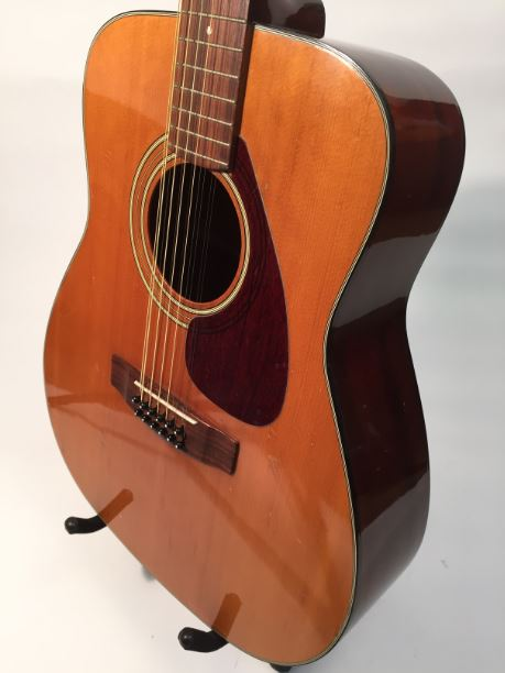 vintage yamaha fg 260 12 string 1970 s acoustic guitar great vintage guitar instruments. Black Bedroom Furniture Sets. Home Design Ideas