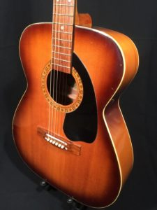 Audition Acoustic guitar Made in Japan 1960s 2
