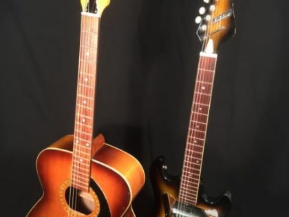Audition guitars Made in Japan by Teisco 1960s
