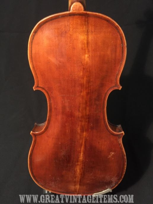Violin Labelled Joseph Hill 1777 In Wood Case Great